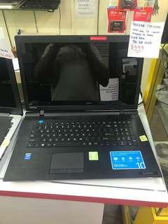 Toshiba c75 15.6inch laptop big screen Intel i3-4010u gen  750 Gb hdd  win 10 / office installed  normal price $699 now  super cheap offer $499