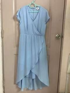 Powder Blue Dress by Lylas Love Bonito