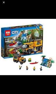 In Stock* 02062 City Series Jungle Mobile Lab