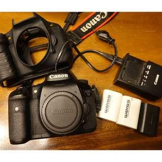 Canon 7D Body DSLR (newest Firmware)