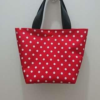 BN Custom Tote: Jujube Black Ruby CP