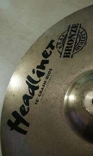Headliner crash ride cymbal 18""