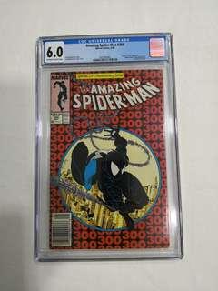 Spiderman #300, CGC 6.0