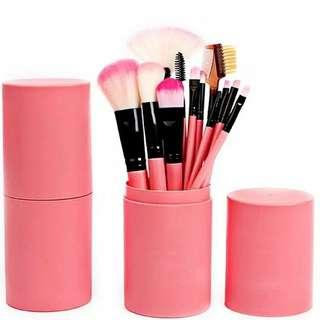 Brush Set 12pcs + Brush Tube