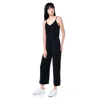 The Editor's Market Charlene Jumpsuit in Black