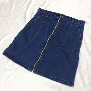 SM Woman Denim Skirt