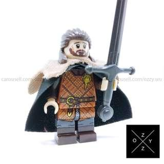 Lego Compatible Game Of Thrones Minifigures : Ned Stark