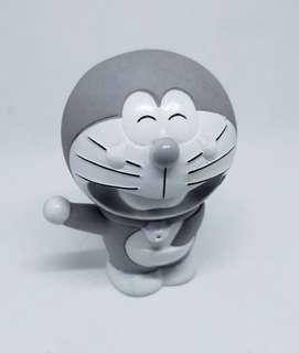 Grey doeaemon figurine rubber