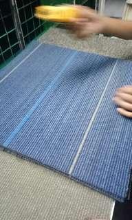 Carpet Tiles Rubberize