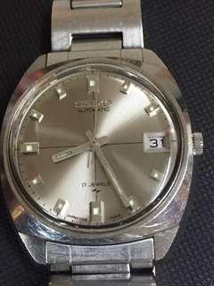 全原庒中古7005精工自動錶(半年前已保養沫過油