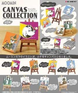 Re-memt 食玩 姆明 油畫系列 MOOMIN Canvas COllection