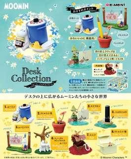 Re-ment 食玩 姆明桌上系列 Moomin Desk Collection