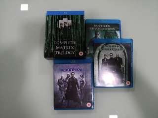 Matrix Trilogy Blu Ray