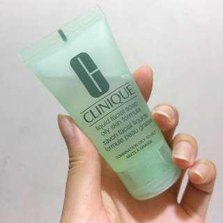 Clinique liquid facial soap 30ml