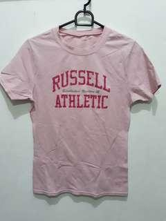 Russell athletic pink