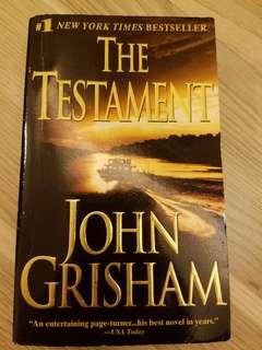 英文小說 The Testament