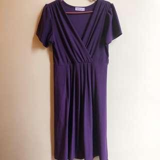 Violet preloved kirei dress free size no specific measurement but I think will fit small to medium. P250 only