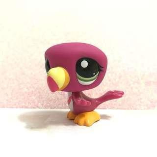 Littlest Pet Shop HTF Toucan bird lps