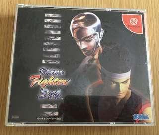Dreamcast game Virtua Fighter VR 快打