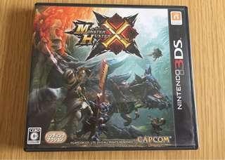 Monster Hunter X MHX 3DS MonHunX 芒亨