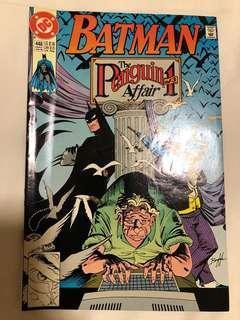 Batman #448 early June 90