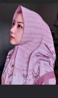 Hijab two tone
