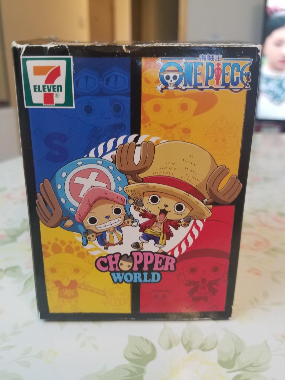 7-11 海賊王 CHOPPER WORLD 毛皮強化索柏