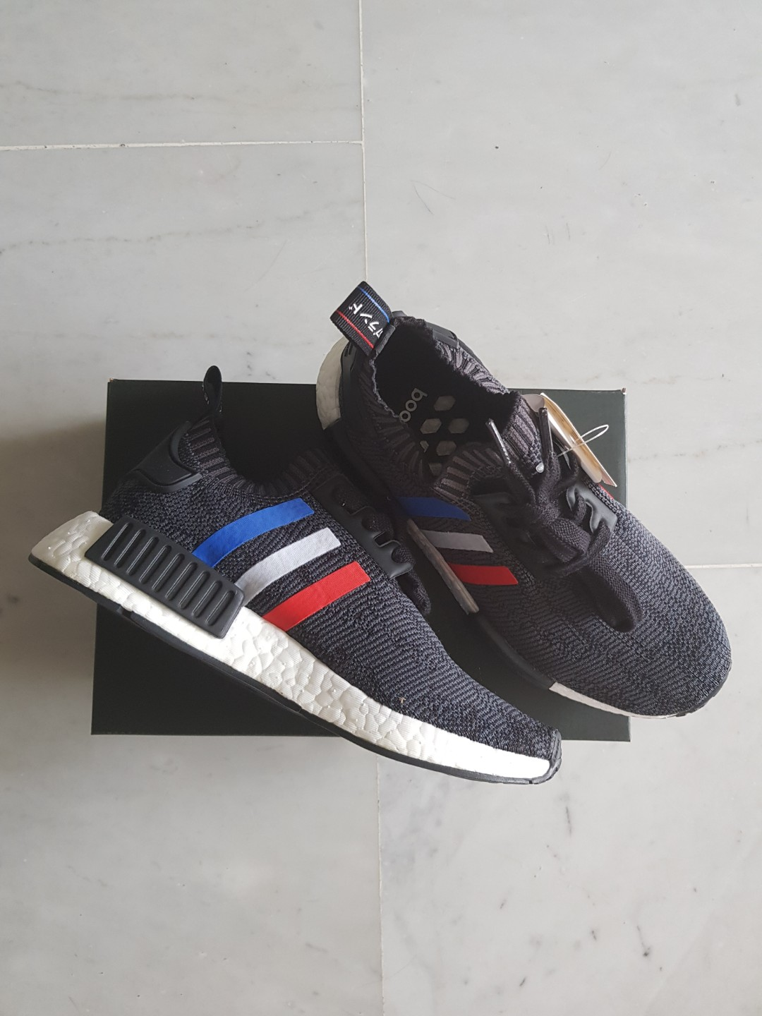 new style d6c48 5b24d Adidas Nmd Tricolour Black