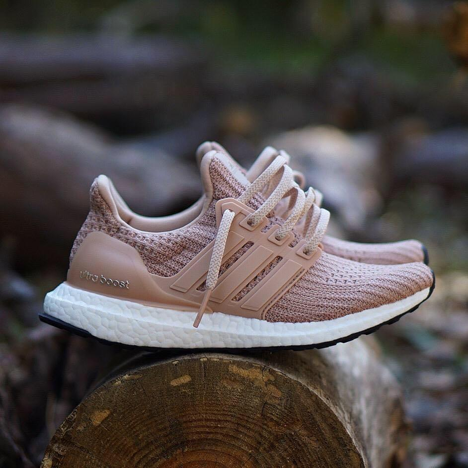 Adidas Ultra Boost 4.0 Ash Pearl Champagne Pink, Women's