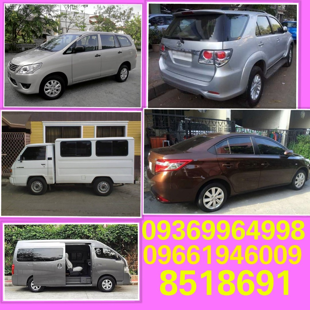 383e0bbd5b Affordable Car Rental and van for rent with or without driver