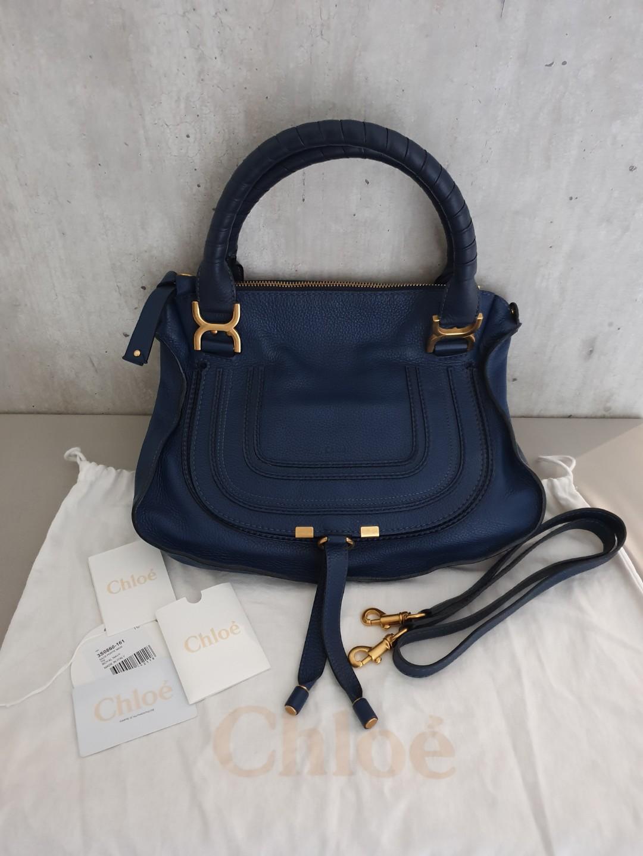 88dd62fa98d Authentic Chloe Marcie Medium Leather Bag, Luxury, Bags & Wallets ...