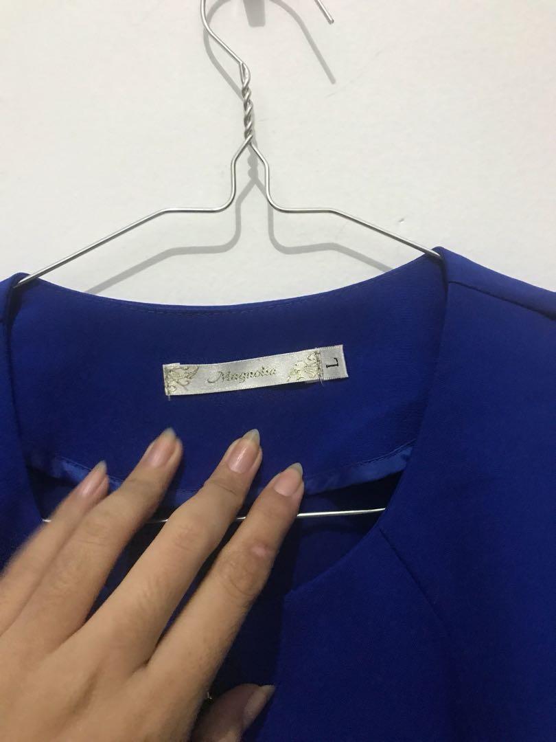 Blazer Biru Magnolia