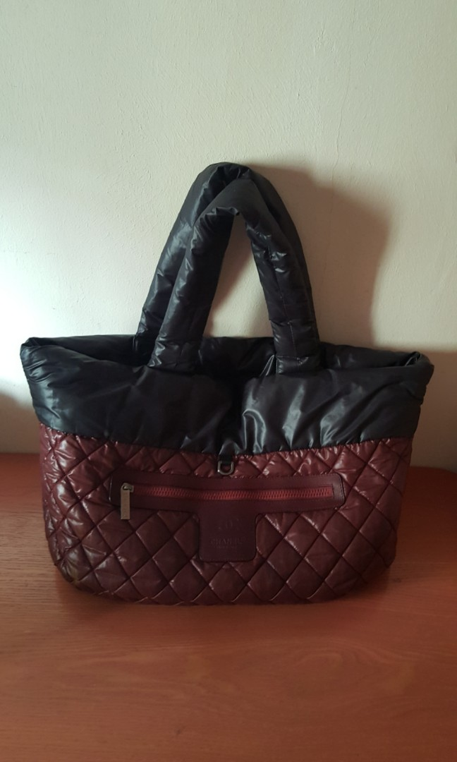 b3b595a69ea2 Chanel Cocoon Reversible Large Tote Bag, Luxury, Bags & Wallets, Handbags  on Carousell
