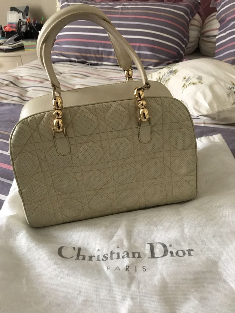 39f4f2349f Christian dior vintage bag, Luxury, Bags & Wallets on Carousell