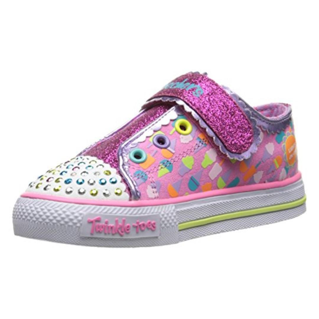 9c50f32048e6 Clearance SALE!!!  Skechers Twinkle Toes - Shuffles Light-Up kid ...