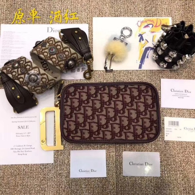 c31e7d4adc8 Dior Oblique Saddle Clutch Bag, Luxury, Bags & Wallets on Carousell