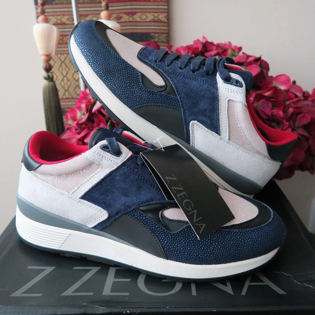 213dffe9 Ermenegildo Zegna Z-Zegna Techmerino Racer Luxury Sneakers Shoes ...