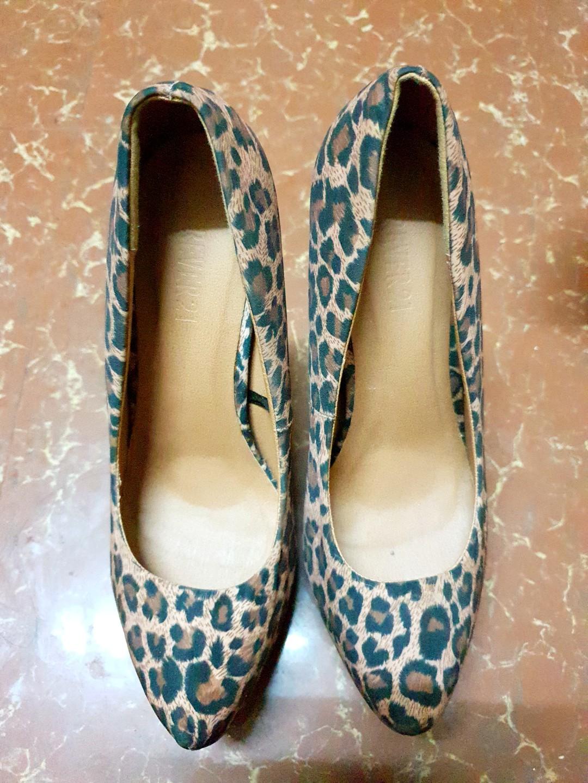 009d857e48f Forever 21 tiger-print heels