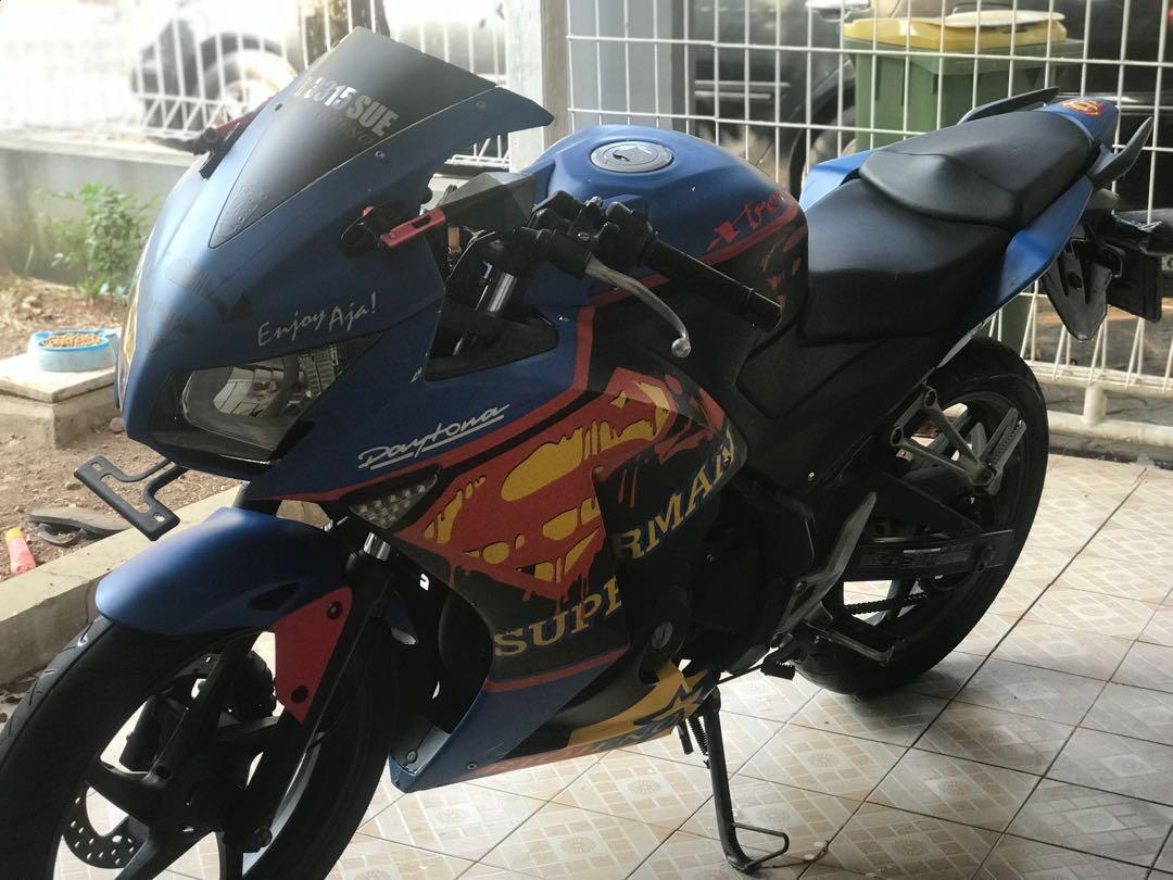 Motor Cbr 150 Modif