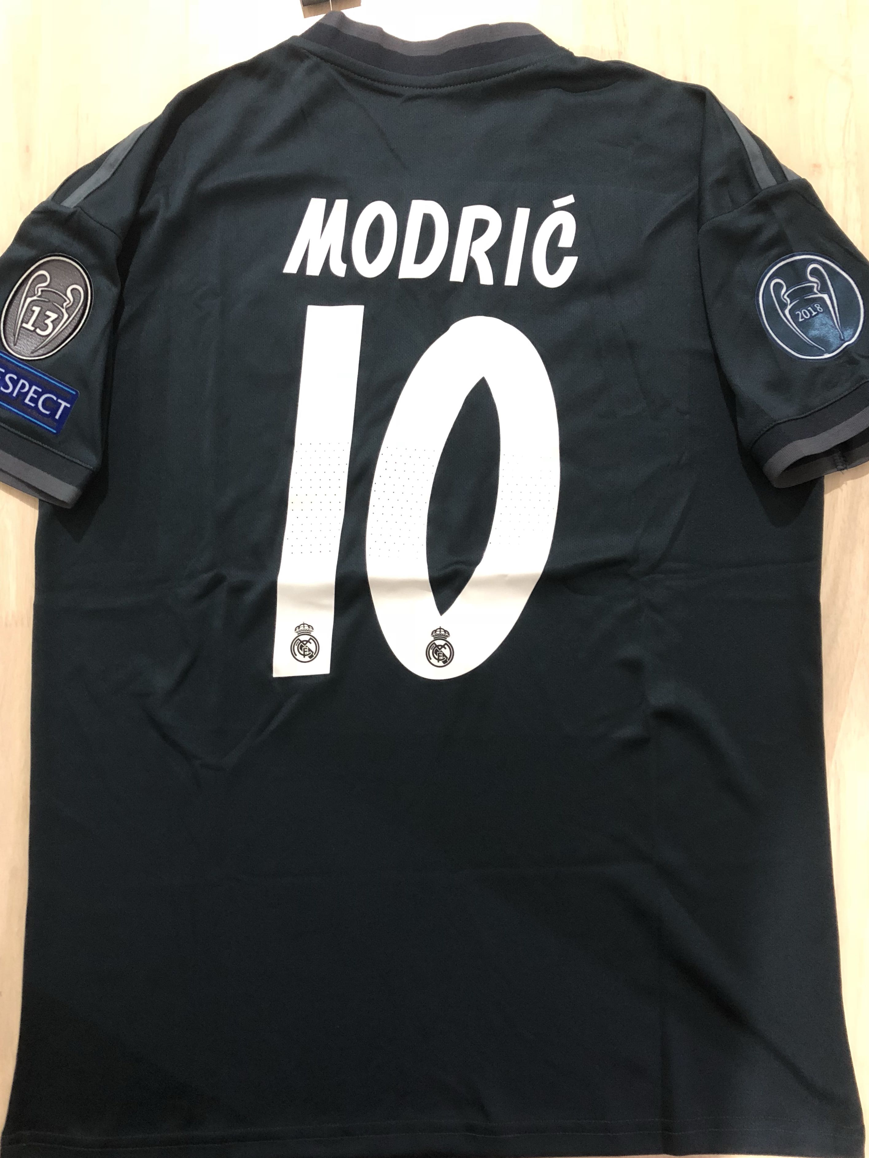 bc00a4b70 In Stock  Real Madrid Away Modric Jersey