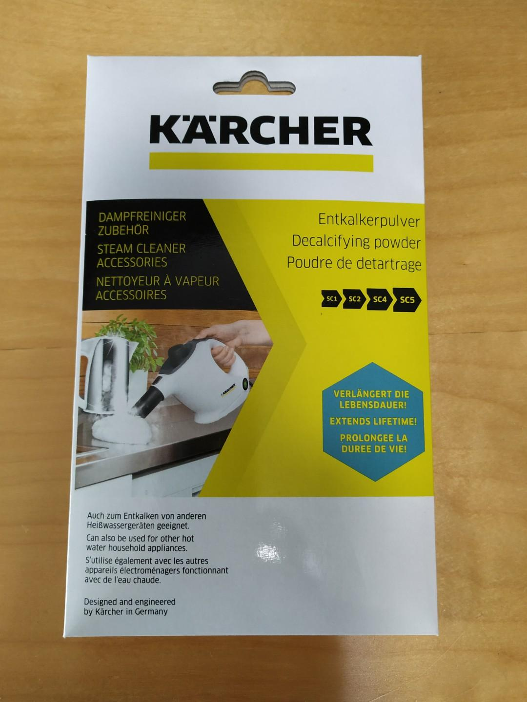 Karcher Decalcifying Powder Descaling SC1 SC2 SC4 SC5 Steam