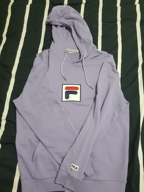 price reduced* lavender fila hoodie