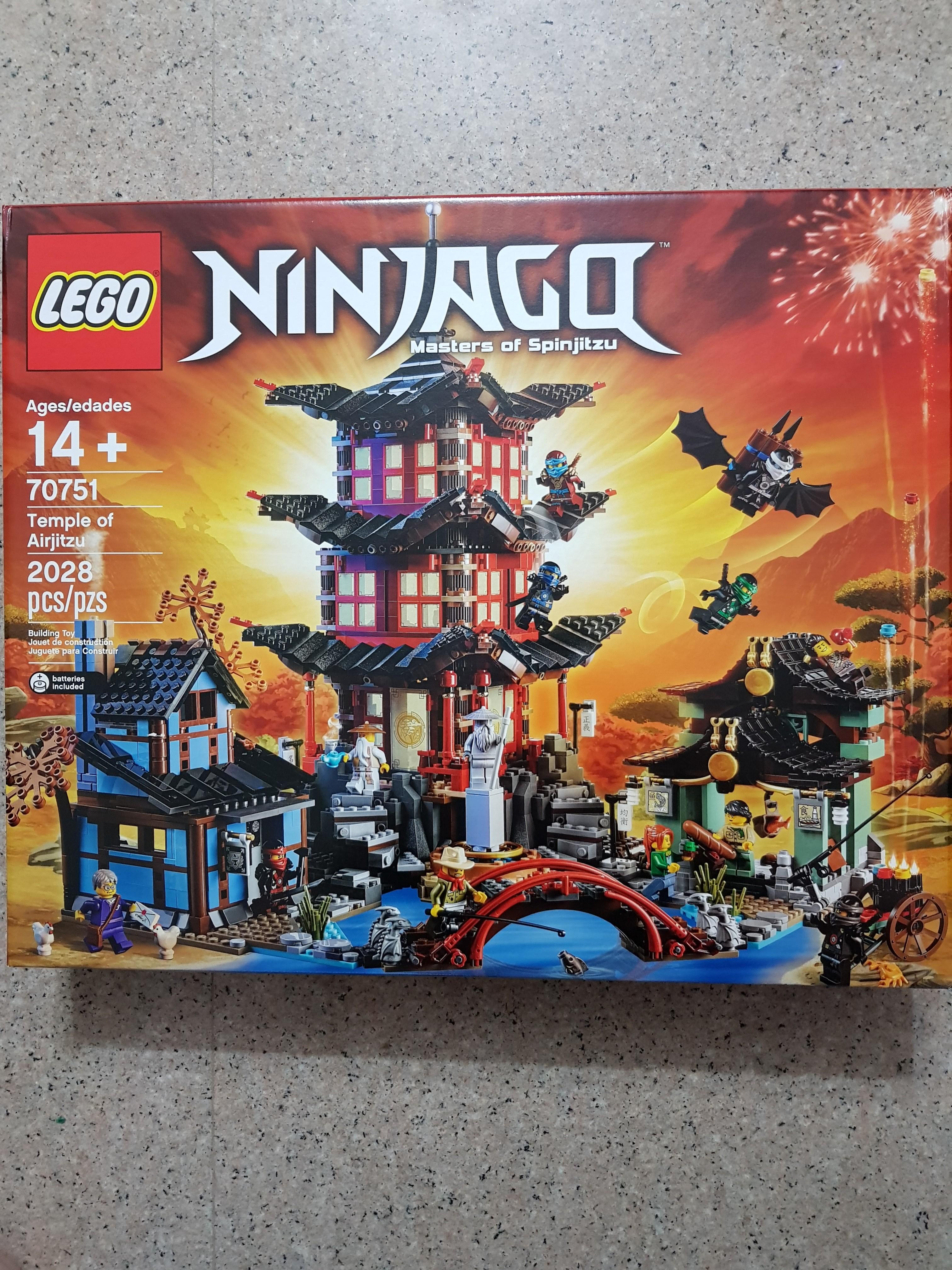 2507 70751 Ultimate 70657 70728 Ninja Of Airjitzu Docks 70505 Movie 70620 Weapon Light Misb City Resurrection 70643 Temple Fire 70617 Lego Ninjago POX0wk8n