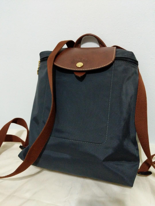 f124d4d28e3 Longchamp Le Pliage Backpack, Women's Fashion, Bags & Wallets ...