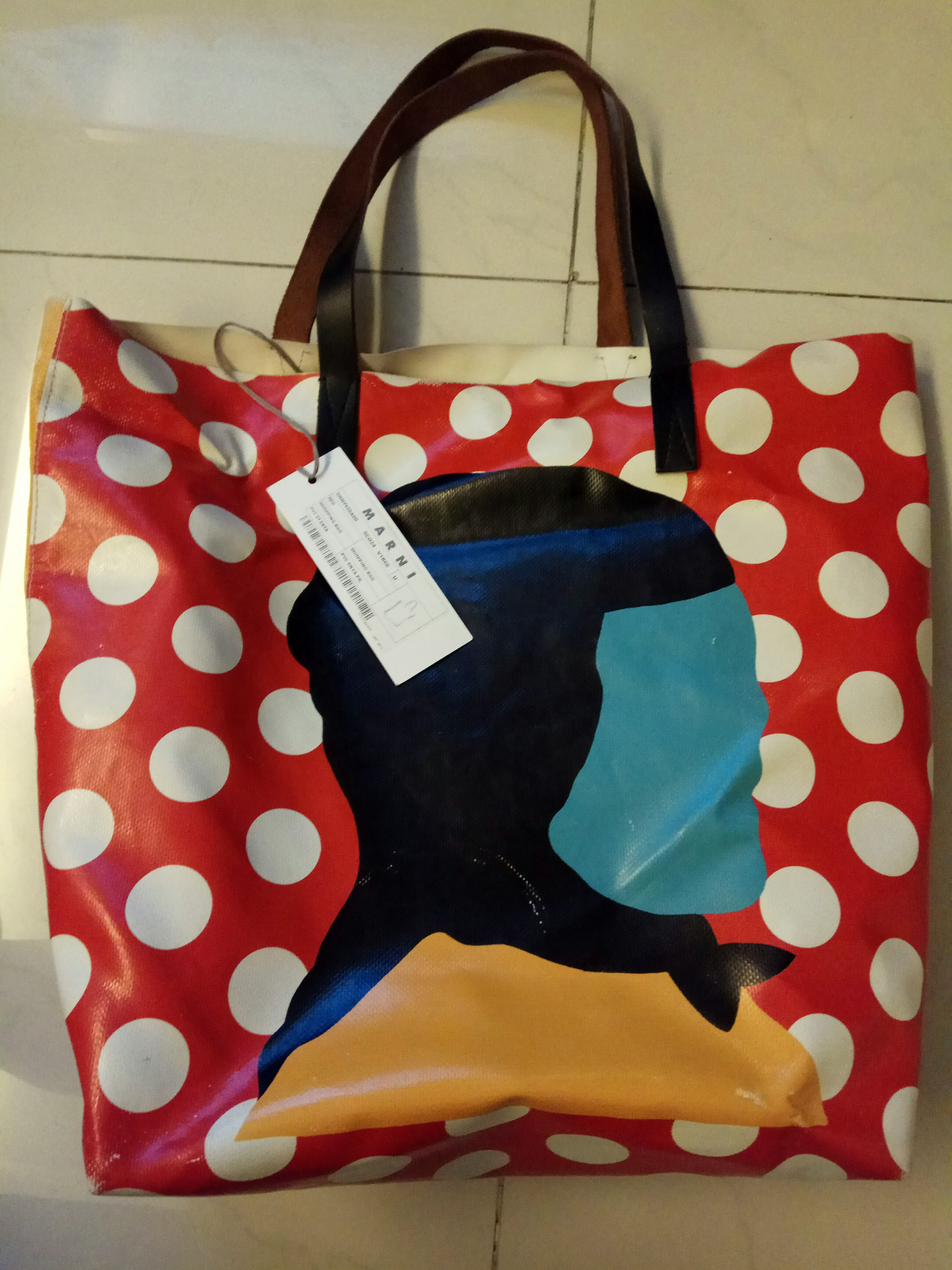 3bf2987d37 Marni EKTA Print Shopping Tote Bag