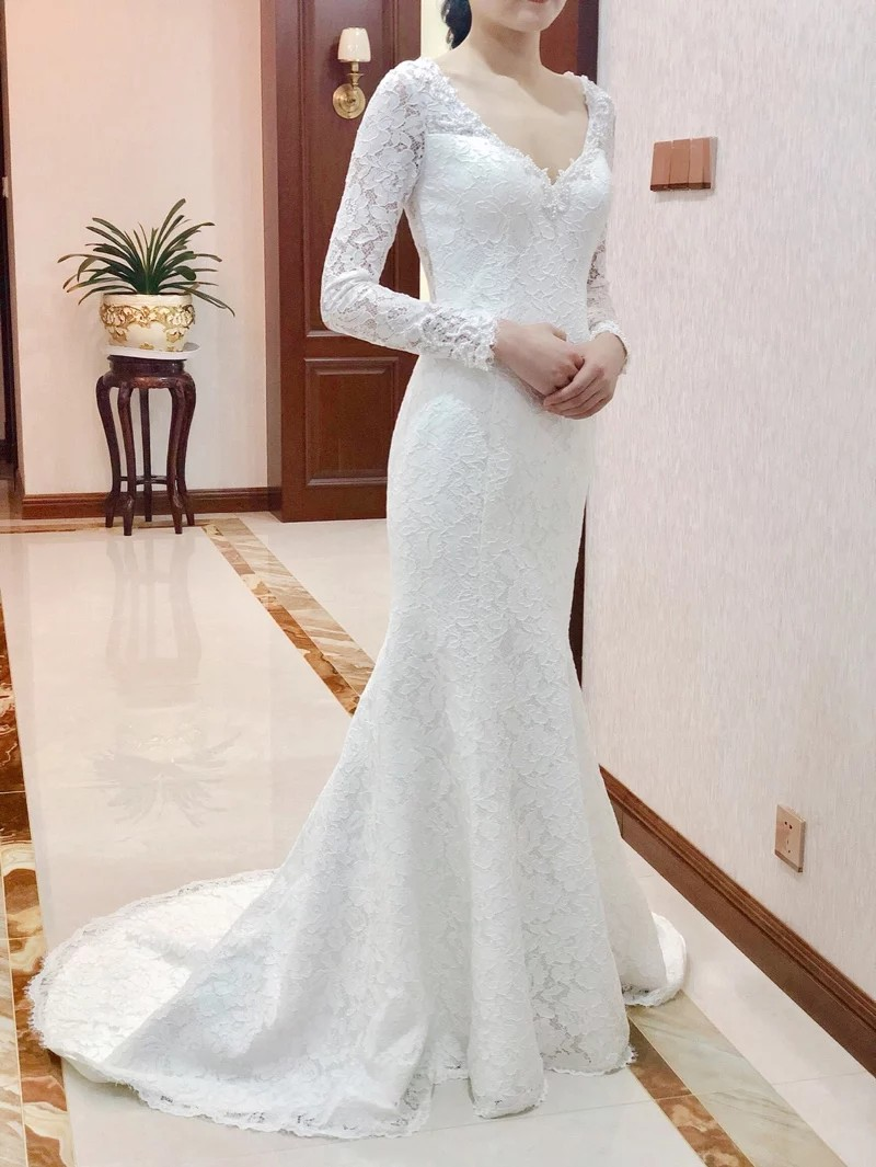 a9ecab7d4 Mermaid Wedding Gown, Women's Fashion, Clothes, Dresses & Skirts on ...