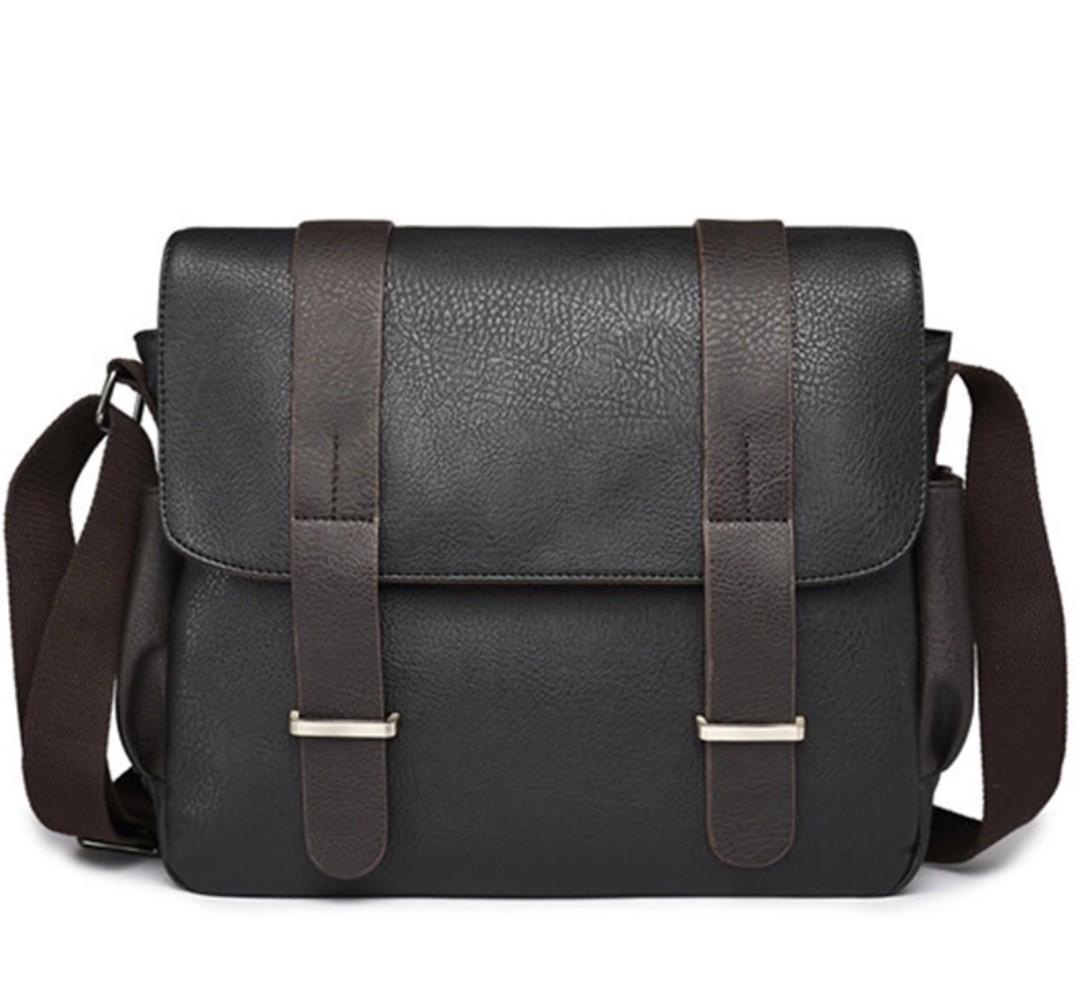 742908675f Messenger Bag men sling bag shoulder grey black kaki