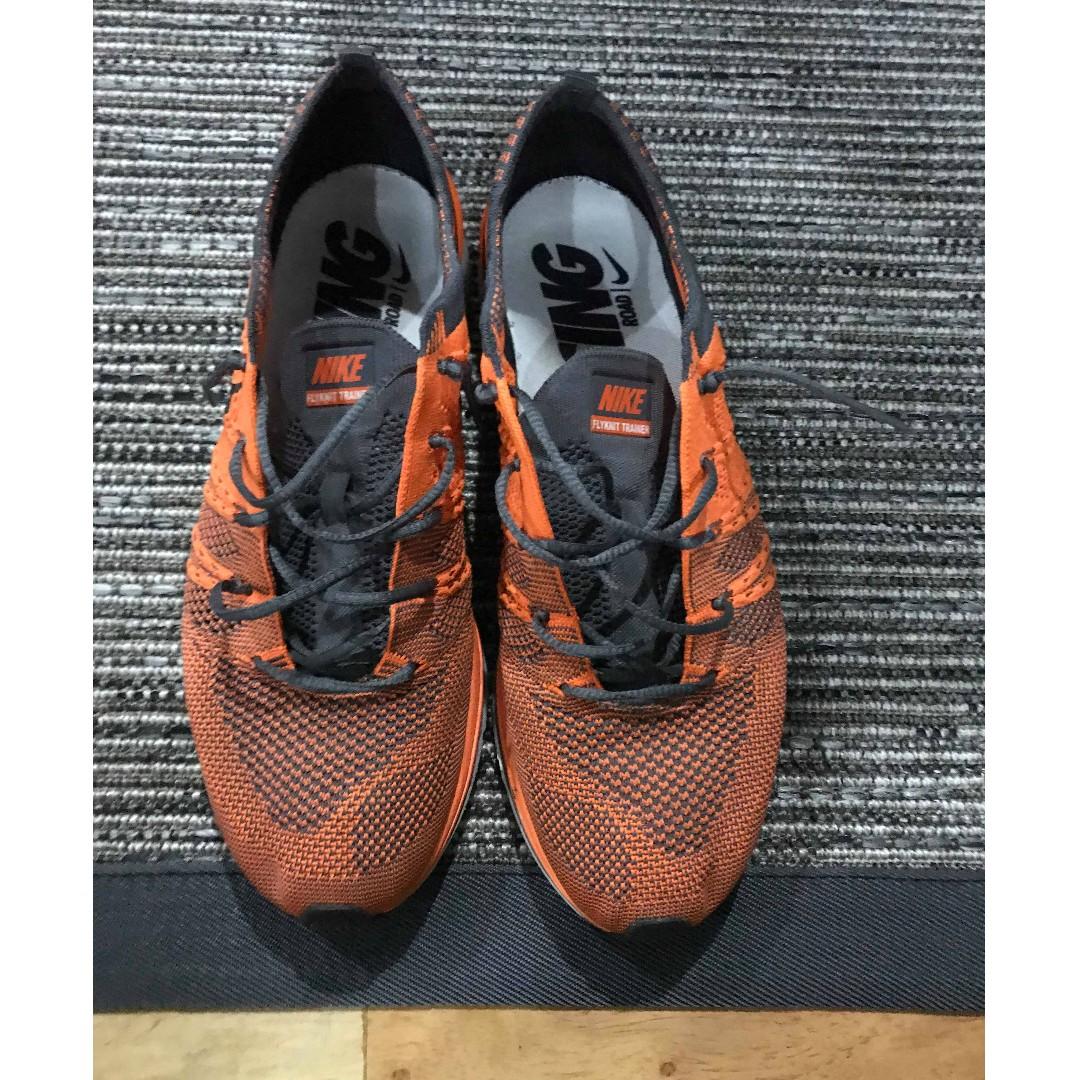 d6c4bebe5e2c Nike Flyknit Trainer Orange OG