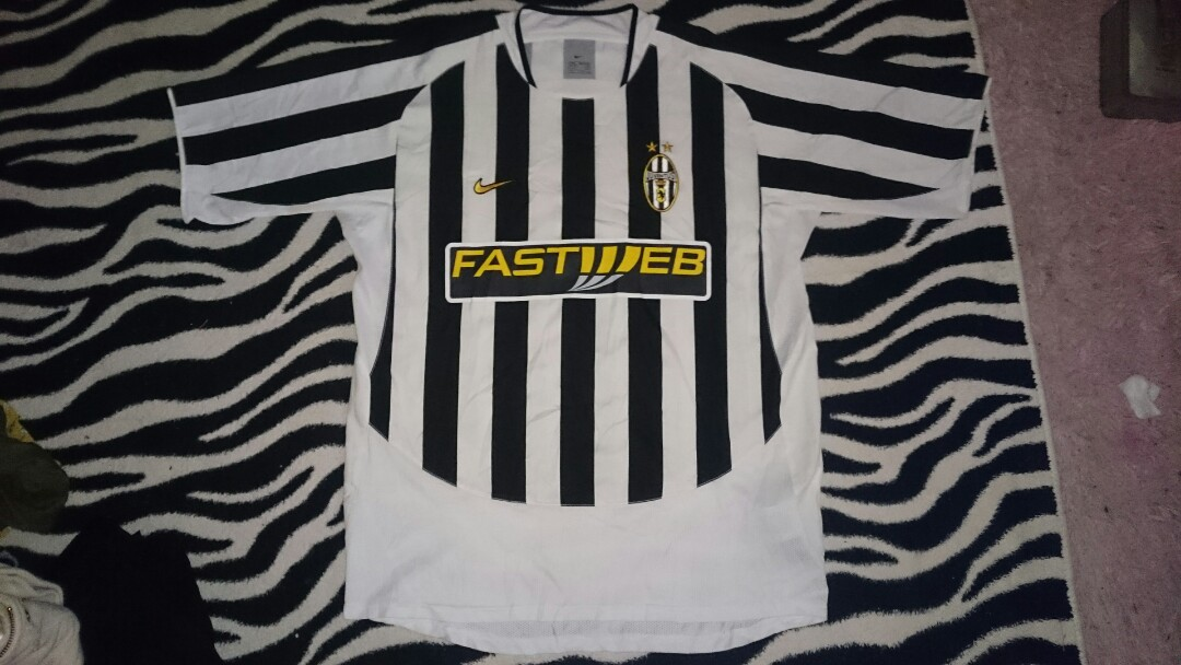 reputable site 12815 4b209 Nike Jersey Juventus Home 2003