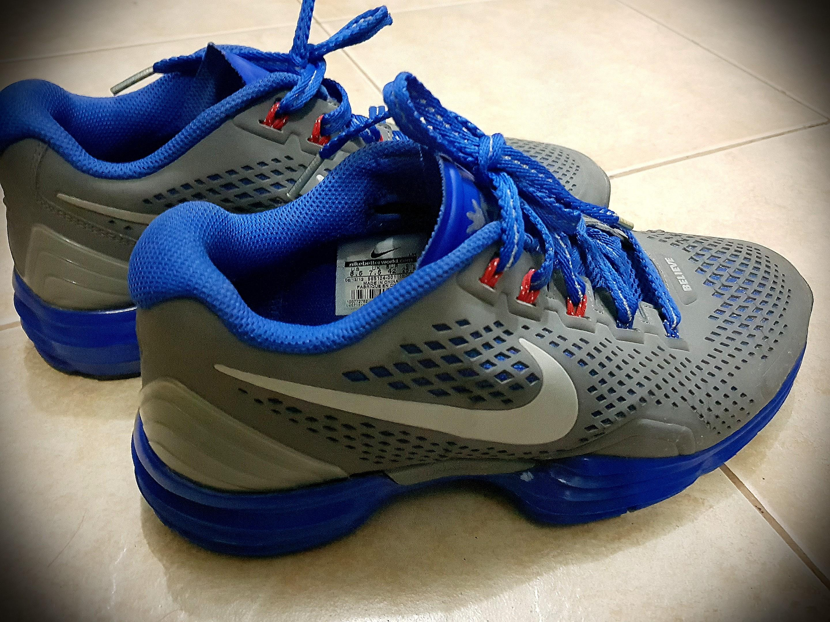 "online retailer 1c8cb 678f5 Preloved Nike Lunar TR1 SL ""Manny Pacquiao"" on Carousell"